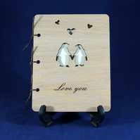 Wooden Keepsake Card