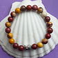 Beautiful Mookite Buddha Stretch Bracelet