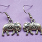 Beautiful Elephant charm earrings