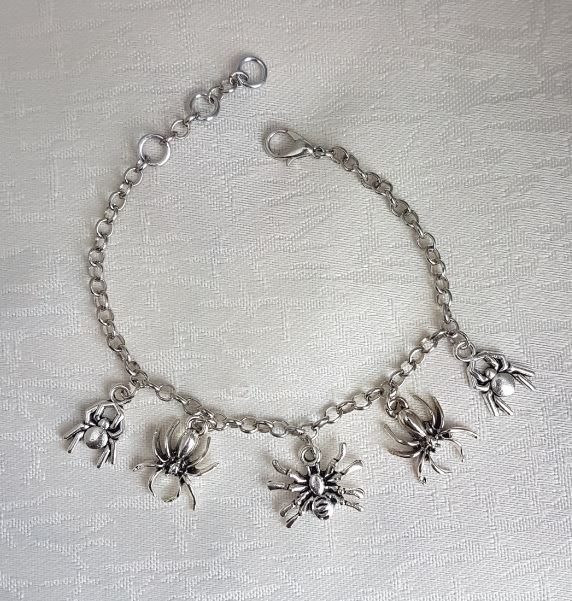 Just Spiders Spooky Charm Bracelet