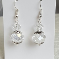 Beautiful Crystal Bauble Earrings - Style 1