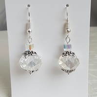 Beautiful Crystal Bauble Earrings - Style 2