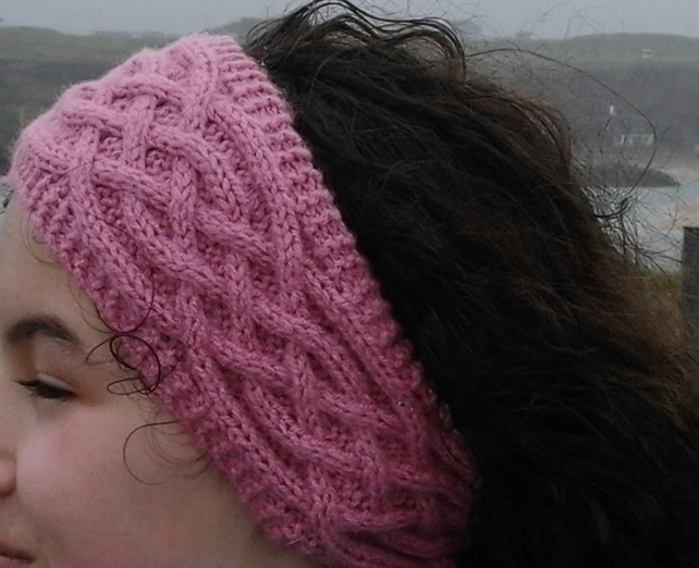Knitting Pattern For Headband Boot Toppers Am Folksy