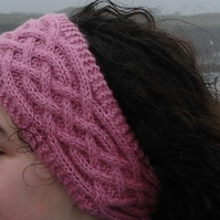 Knitting pattern for headband, boot toppers & mittens - digital knitting pattern