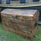 Wooden Storage Chest made using recycled pallet wood