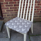 Fabulous G Plan Dining, Living, Bedroom Chair Painted in Antique White Colour