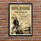 Neil Young Concert Ticket Stub Print, A3