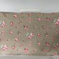 Sewing Machine Dust Cover Shabby Chic - Clarke & Clarke Rosebud Taupe Fabric