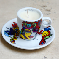 Soy Wax Espresso Cup Candle