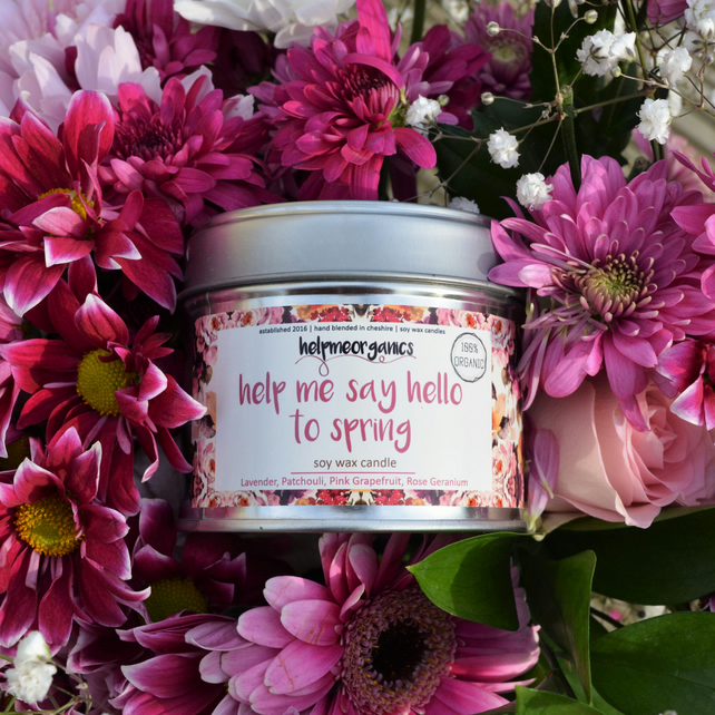 Spring Soy Candle