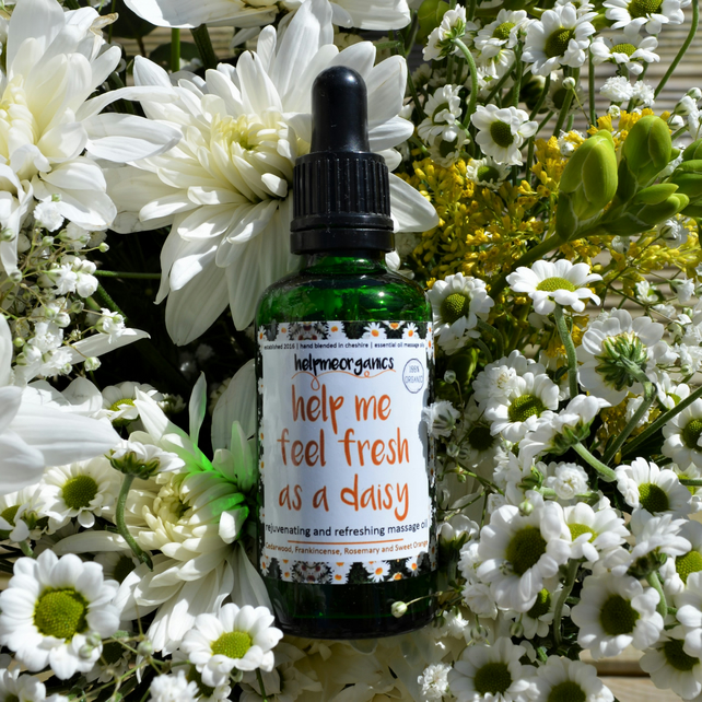 Uplifting Massage Oil - Happy Body Oil - Nutritious Body Oil - Summery Body Oil