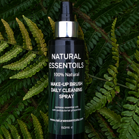 Natural Essentoils 100% Natural Make-Up Brush Daily Cleaning Spray