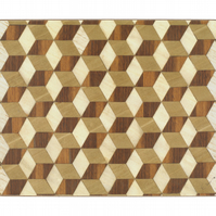 Brown Ivory Beige Serving Mat Melamine Heat Resistant 160 Celsius