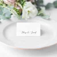 Glamour Wedding Place Cards