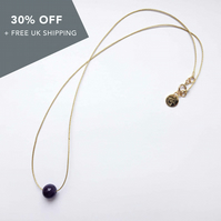 "Life Necklace (17"") - Amethyst"