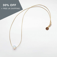 "Life Necklace (17"") - Moonstone"