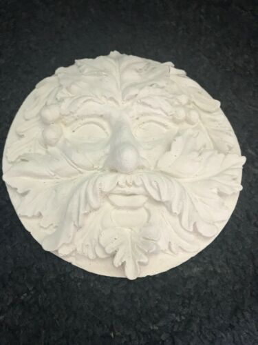 Latex Mould to create this Green Man Treeface Wall Plaque