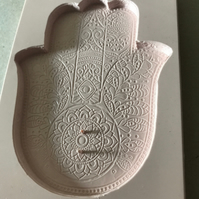 Silicone Mould Hamsa Hand, Hand of Fatima, for Resin Art