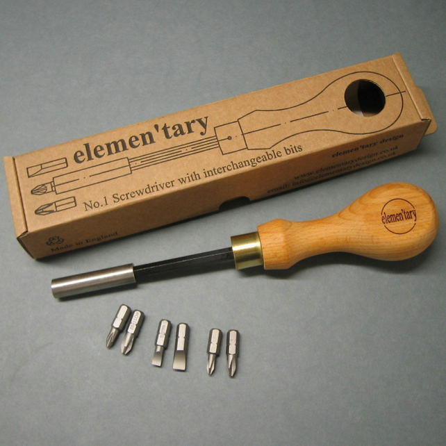 Handcrafted Screwdriver Set
