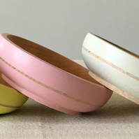 Wooden Bowl & Scoop - 9cm
