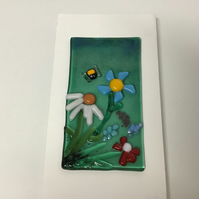 Fused glass picture