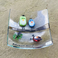 Quirky birds dish