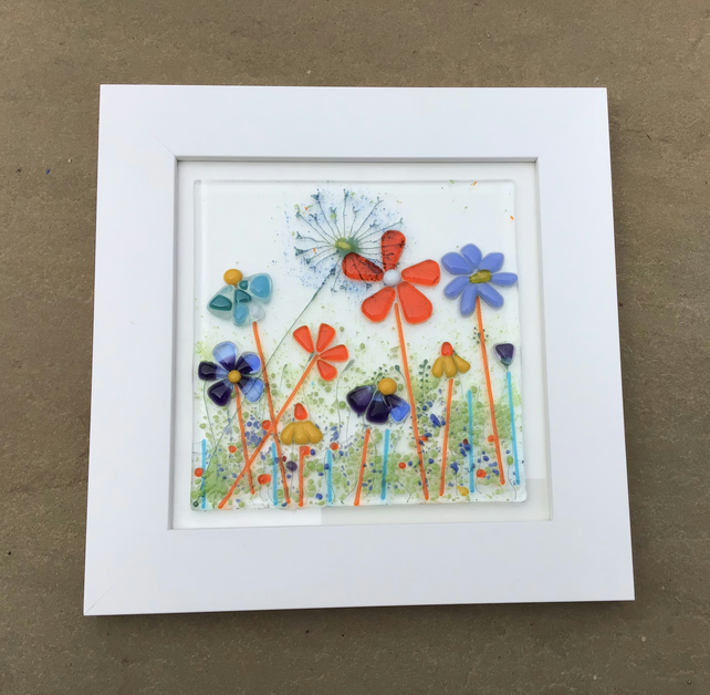Fused glass meadows picture