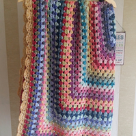 Handmade Crochet Blanket Throw Afghan Bedspread