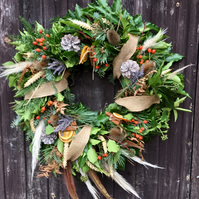Luxury, Fresh Wreath. 'Hartley Park'