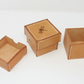 Small leather trinket box