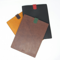 "Italian leather tablet sleeve to fit 9.7"" iPad in a choice of colours"