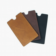 Leather sleeve for iPhone11
