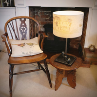 The Charsfield Table Lamp with Globe Bulb