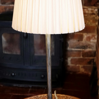 The Monewden Table Lamp with Squirrel Cage Bulb