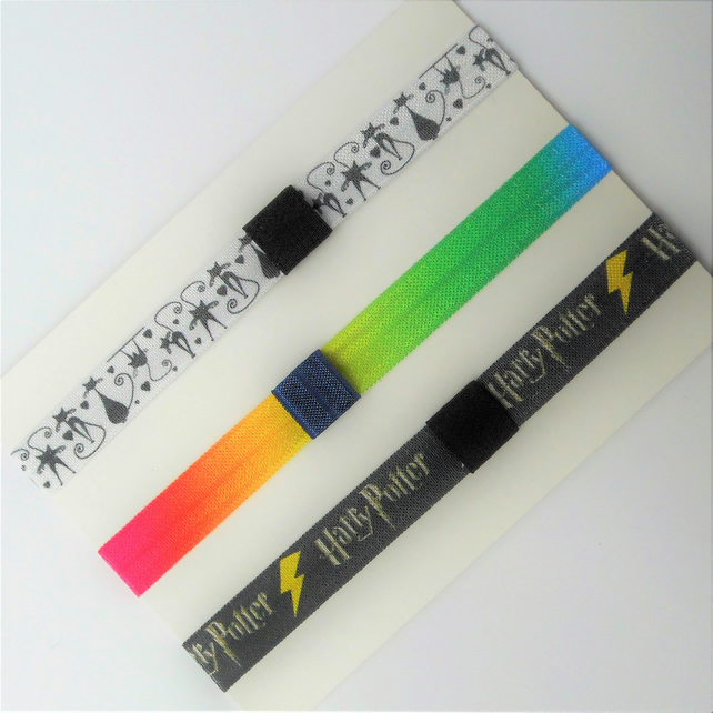 Harry Potter planner band pen holder book mark pencil tab A6 size books