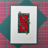 Frame-able Xmas smart striking different contemporary look traditional colours
