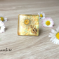 Flower  Resin Ring- Daisy resin ring - Resin Jewellery