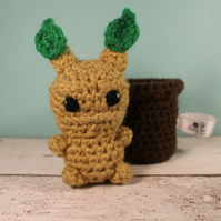 Crochet Mandrake - Harry Potter Gift - Stuffed Mandrake toy