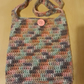 Ladies multicoloured summer tote bag