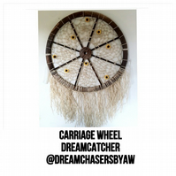 Carriage Wheel Dreamcatcher