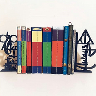 Harry Potter - 3D Printed Decorative Lightweight Bookends - Always