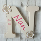 Nan gift Nanny gift mothers day personalised gift, birthday freestanding sign