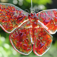 Made to Order - Handmade Fused Glass Butterfly Light Catcher