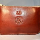 Handmade Leather Coin Purse. Can be personalised