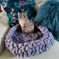 Hand Crocheted Pet Bed