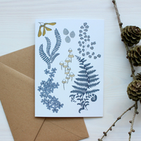 Forest floor card