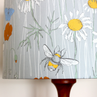 Cornish Wildflower lampshade