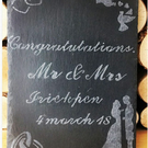 Personalized Slate Engraved Frame
