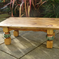 Beautiful hand made wooden coffee table  30% DISCOUNT OFF ORIGINAL PRICE