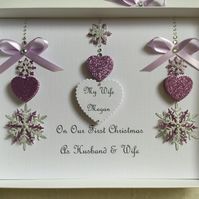 Personalised Gift Boxed Daughter Christmas Card Mum Wife Granddaughter